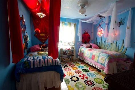Boy Girl Shared Room Bedding