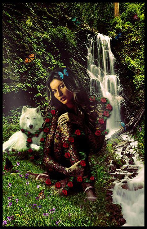 Goddess Of Nature By Trippeddesign On Deviantart
