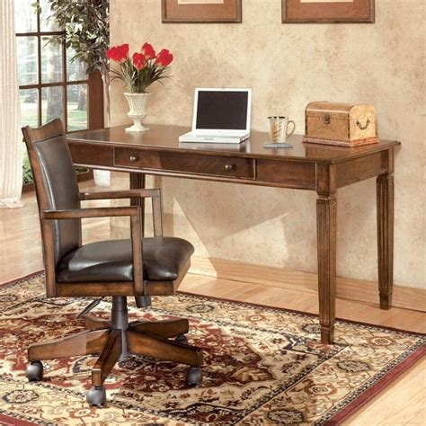 ashley furniture computer desk signature design by ashley furniture hamlyn large leg