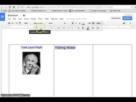 Tri Fold Take Out Menu Template Google Docs Deli by How To Create Brochure With Google Docs Youtube