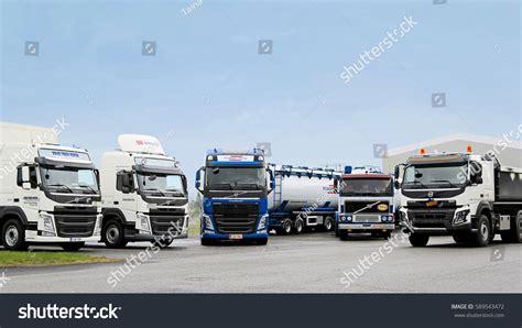 volvo truck service center lieto finland november 14 2015 volvo stock photo 589543472