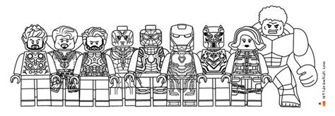 lego avengers coloring pages avengers coloring pages
