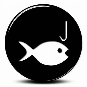 Fishing Icon #044225 » Icons Etc