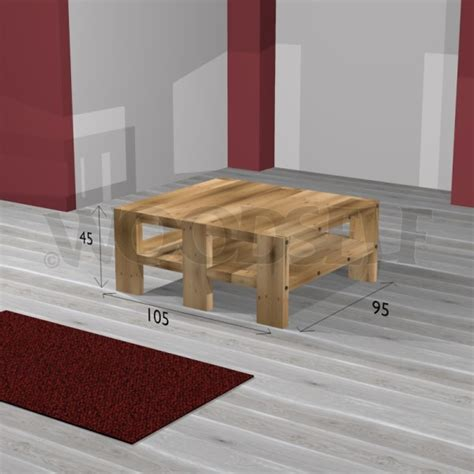 table basse woodself le site des plans de meubles gratuits