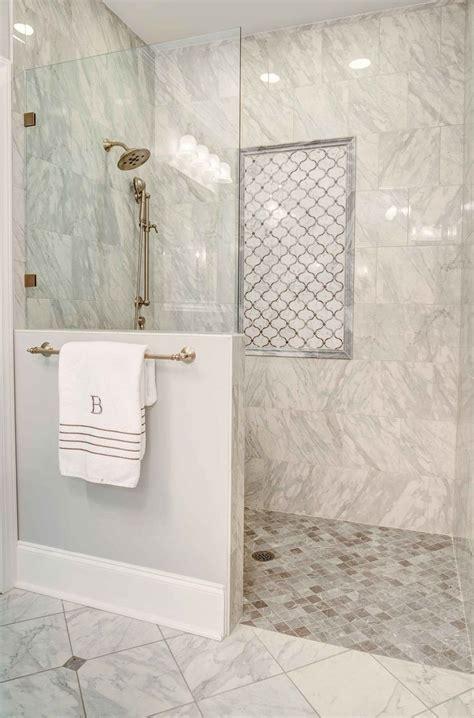 fabulous shower features  curbless doorless entry