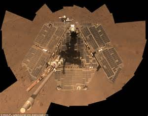 Nasa reveals Opportunity rover is looking cleaner than ...