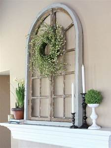 how to recycle upcycling old window panel shutters With what kind of paint to use on kitchen cabinets for wrought iron candle holders for fireplace