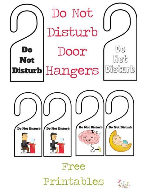 Free Do Not Disturb Door Hanger Template by Do Not Disturb Door Hanger Template Word Driverlayer