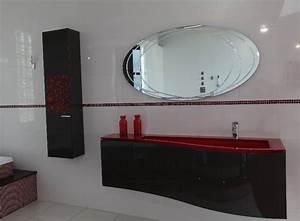 meubles salle de bain decor rouge lille douai lens le With meuble salle de bain lille