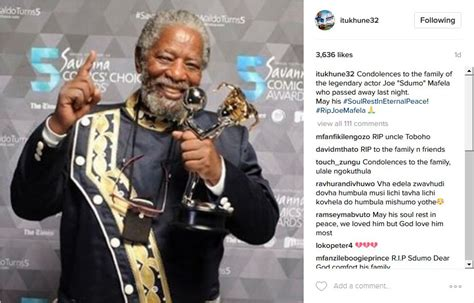 joe mafela bikini sa celebs mourn legendary actor joe mafela okmzansi