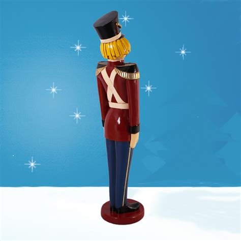 tin toy soldier toy soldiers pair 66in christmas
