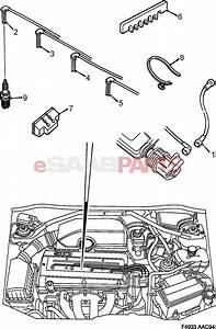 30551923  Saab Ignition Lead