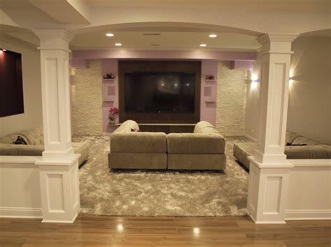 downstairs bathroom ideas basement half walls and design columns ideas basement masters