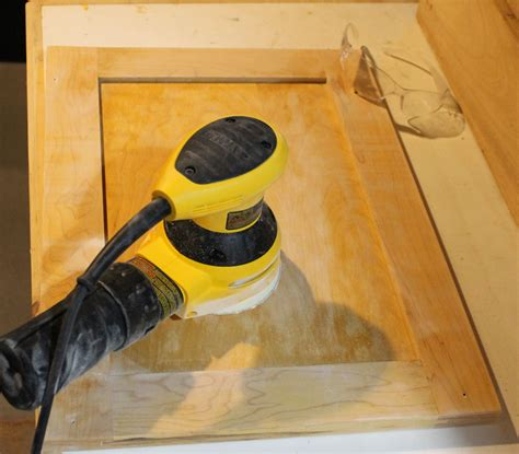 how to sand cabinets sanding the cabinet doors the 2 seasons