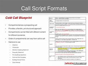 how to build a cold call script that works With cold call script template