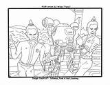 Twins Coloring Players Drawings sketch template