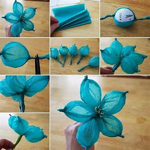 15, Interesting, Crafts, Made, With, Tissue, Paper