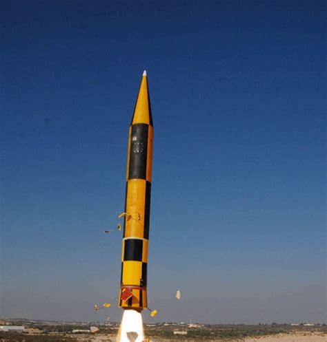 Israeli Arrow-3 High Altitude Ballistic Missile Defence