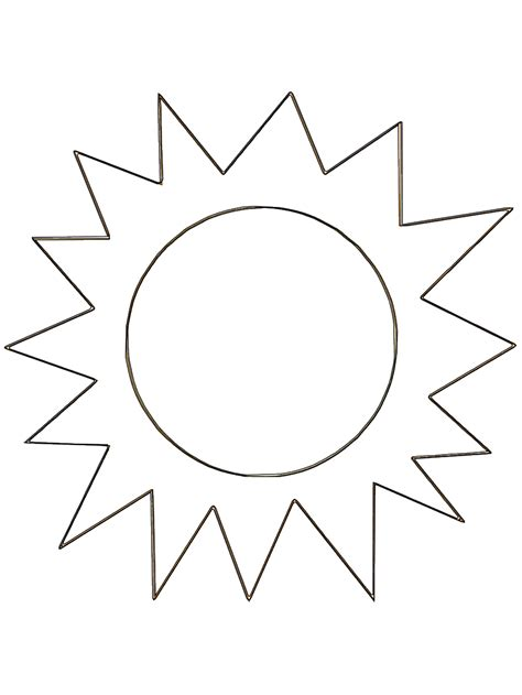 sun coloring pages  bestofcoloringcom