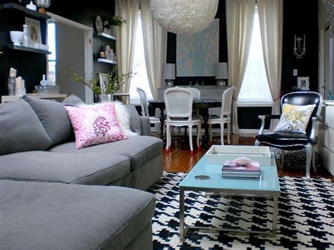 stylish home black  white interiors