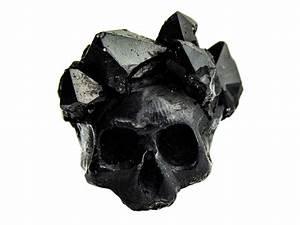 Black Crystal Crown Ring