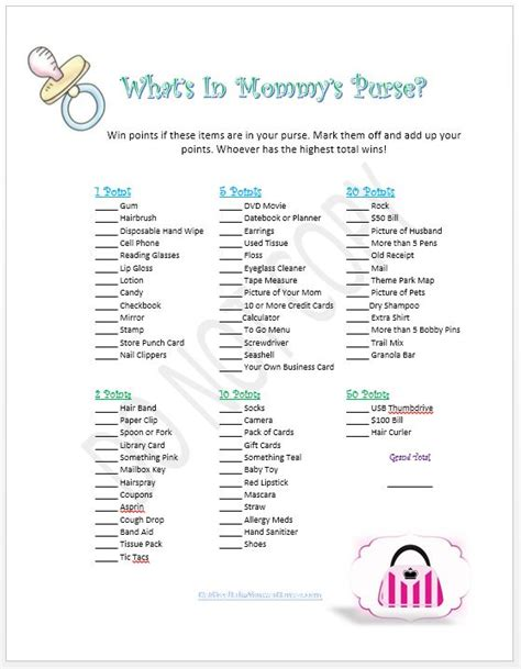 what s a template printable baby shower baby shower in a box baby shower