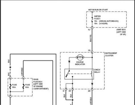 1988 mazda 323 alternator wiring electrical problem 1988