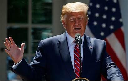 Trump Donald President Impeachment Conference Washington During