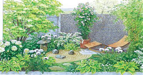 Japanischer Garten Vorher Nachher by Gestaltungsideen F 252 R Einen Kleinen Reihenhausgarten Mein