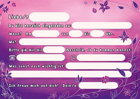 einladungskarten geburtstag kind einladungskarten