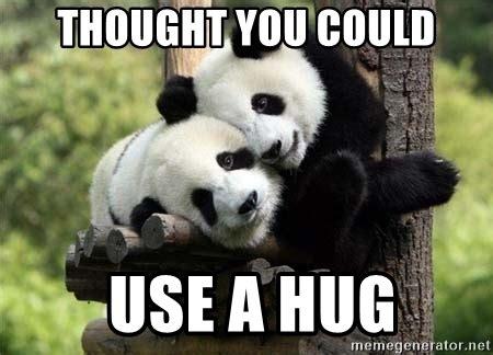 Meme Hug - image gallery hug meme