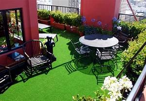 The synthetic grass for balcony and terrace – Easy to