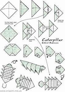 Image Result For How To Make An Origami Caterpillar