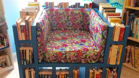 Read Your Bookcase Bookshelf Buy by Build The Ultimate Reading Chair With A Built In Bookcase