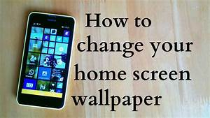 How to change your Home screen wallpaper in Windows 8.1 ...