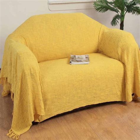 extra large sofa slipcovers ochre yellow cotton nirvana extra large throws for sofas