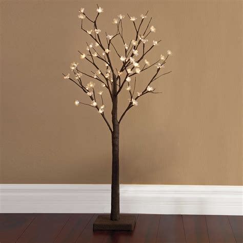 tree branch light fixture home decor