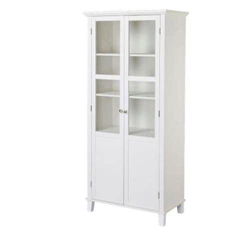 laminate cabinet doors home depot 5 shelf laminate storage cabinet in white z0687914 the