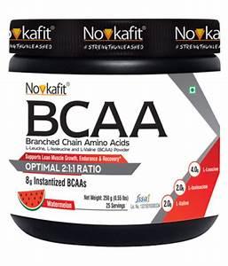Novkafit Bcaa Powder  U2013 25 Servings  Watermelon Flavour 250 Mg  Buy Novkafit Bcaa Powder  U2013 25