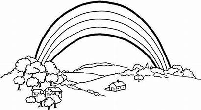 Rainbow Coloring Pages Printable