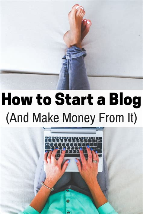How To Start A Blog (and Make Money From It)  The Budget Diet