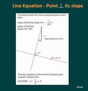 Equation Of Perpendicular Lines Calculator