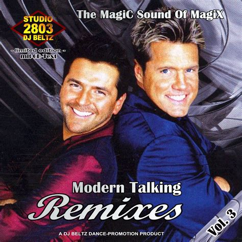 modern talking mp3 album remixes vol 03 of studio 2803 dj beltz modern talking mp3 buy tracklist