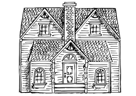 coloriage maison img
