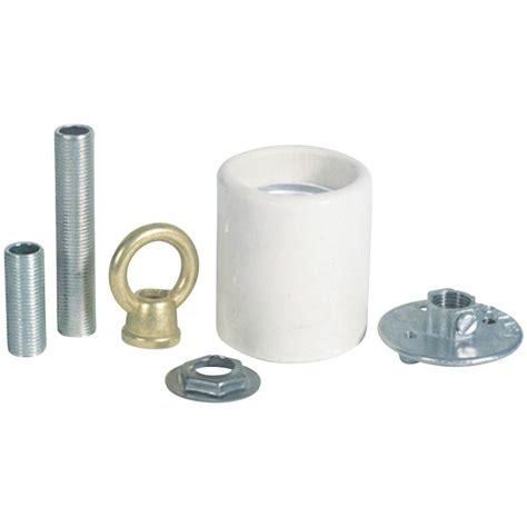Porcelain L Socket Home Depot by Westinghouse Porcelain Keyless Socket Adapter Kit 7040800