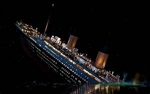 Download Titanic Sinking Wallpaper 1280x800 | Wallpoper ...