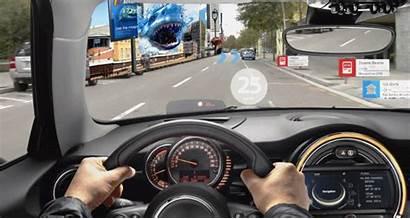 Augmented Vision Driving Future Mini Concept Reality