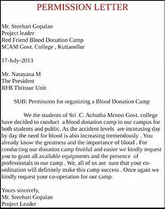 red friend blood donation camp With asking for blood donation letter