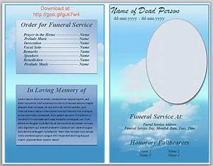 73 best printable funeral program templates images on With free downloadable funeral program templates