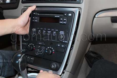 Volvo Car Stereo Removal Guide